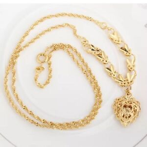 14k gold plated chain - 14k chaine or plaquer
