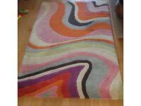 Rug multicoloured