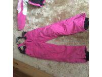 Girls Ski outfits