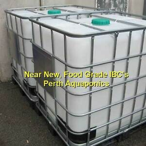 Food Grade, Green cap IBC - Near new - Suit Aquaponics Belmont Belmont Area Preview