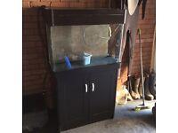 Aqua reef 200 litre fish tank aquarium