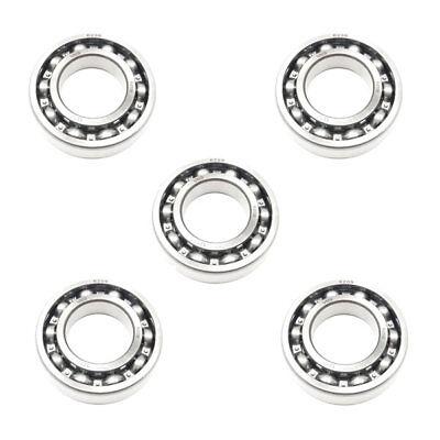 5x 6208 Single Row Deep Groove Ball Bearings - 40x80x18 Mm