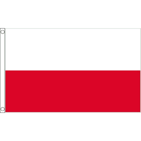 Poland Flags & Bunting - 5x3