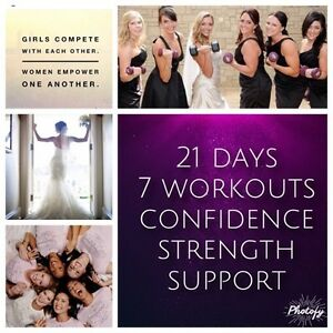 21 day fix for your bridal party!