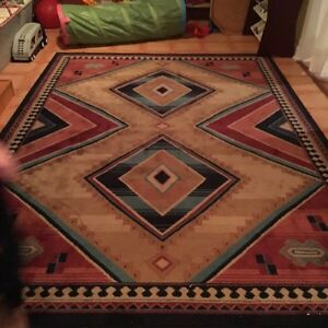 2 large area rugs