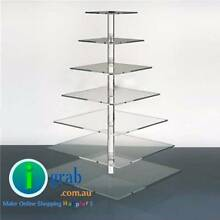 7 tier clear acrylic square Cupcake Stand for wedding party Auburn Auburn Area Preview