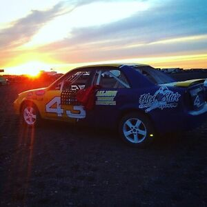 FOR SALE OR TRADE Mazda stock race car