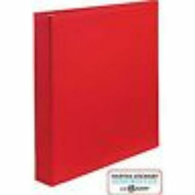 Martha Stewart Home Office Small Format 1 Inch Binders 2 Count Red Model 18590