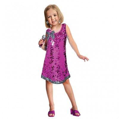 amscan 997599 Kinder Kostüm Set Popstar Queen 3 - 6 Jahre Gr. 104 - 116