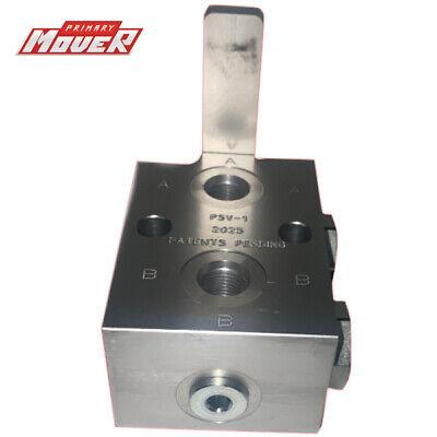 Hydraulic Manual Selector Ball Valve