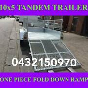 10x5 tandem trailer fully galvanised with cage & fold down ramp 1 Clayton Monash Area Preview