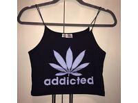 Addicted crop top