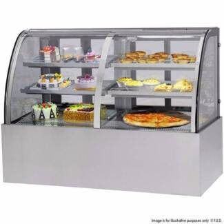 Refrigerated & Heated Dual Curved Display Cabinet CG150FA/FE-2XB