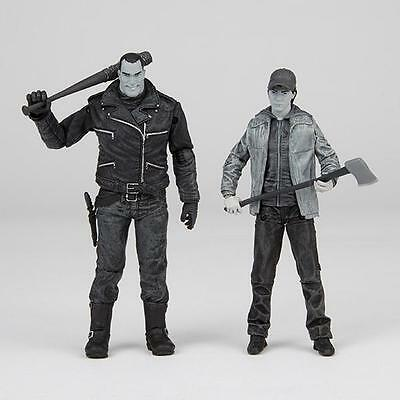Walking Dead Negan And Glenn Action Figure 2 Pack  Black And White  Mcfarlane