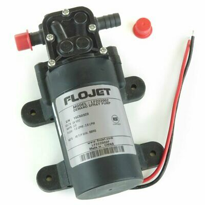 Flojet Demand Spray Pump 24vdc 2amps 1gpm 35psi Model Lf222002