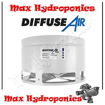 Diffuse Air 250mm 10 Inch Systemair Air Circulation and Distribution