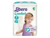 Nappies Libero comfort 7