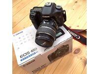 Canon 40D DSLR Camera with EF-S 17-85mm IS USM Lens
