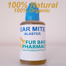 Ear Drops For Cats And Dogs Kills Ear Mites 100% NATURAL Canker Ear Cleaner 50ML