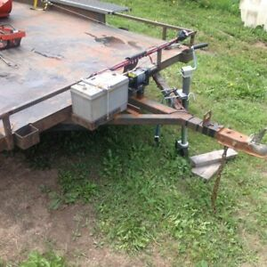6 x 12 foot utility trailer with winch