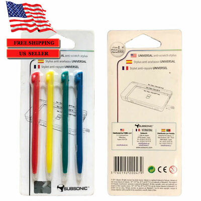 4 x color TOUCH STYLUS PEN FOR NINTENDO NDS DS LITE DSL Video Game Accessory Nds Stylus Pen