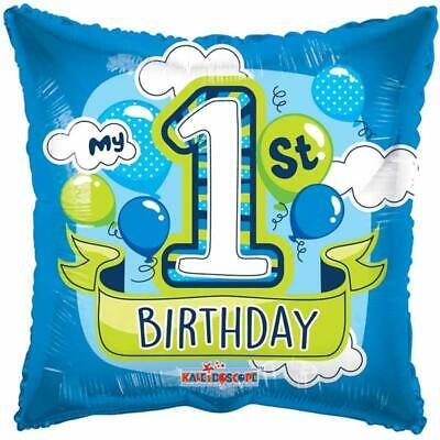 My 1st Birthday Blue Balloon 46 cm (18 inch) Party Event Decoration - My First Birthday Decorations