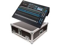 New Qu24 Fully Automated Digital mixing desk boxed + New Hard Case