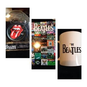Rolling Stones and Beatles Collectibles