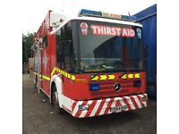 Used heavy rescue fire engine