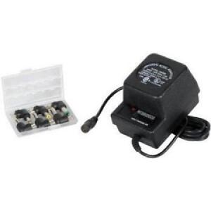 COOL 500mA Universal, AC to DC Power Supplies with Selectable DC Voltage from 3 to 12 V DC - Black - PS-500