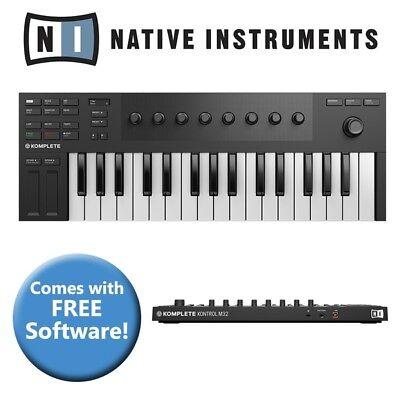 Native Instruments Komplete Kontrol M32 USB Keyboard Controller + Software