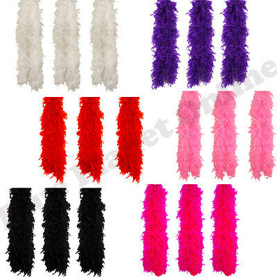 BULK BUY WHOLESALE FEATHER BOA 150CM 50G SHOWGIRL FANCY DRESS BURLESQUE - Buy Feather Boa