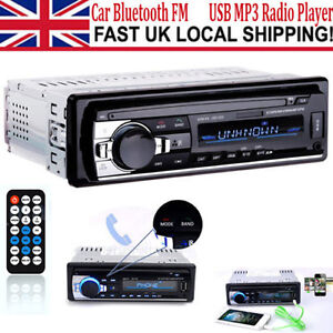 Digital Car Stereo Audio Media Receiver Bluetooth FM USB MP3 Radio AUX Player