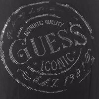 Guess Jeans Logo Bling Top