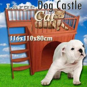 Warehouse direct dog kennel puppy cat castle house Riverwood Canterbury Area Preview