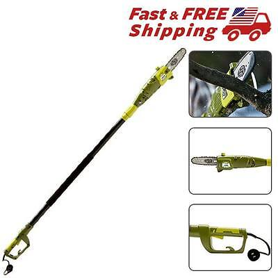 Electric Saw Pole Saw Telescope Extend 15Ft Adjustable Length of overhead reach