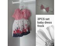 baby girl formal dress new with tags sizes 6-12 12-18 Free pp