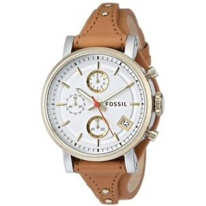 Ladies Fossil watch with extra straps