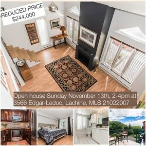 Open house Sunday November 13th, 2-4pm at 3566 Edgar-Leduc West Island Greater Montréal image 1