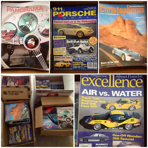 "Huge ""PORSCHE"" Magazine Collection!! (Over 348 Issues!)"
