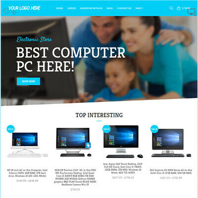 Electronic Gadget Affiliate Online Business Website For Sale Mobile Friendly