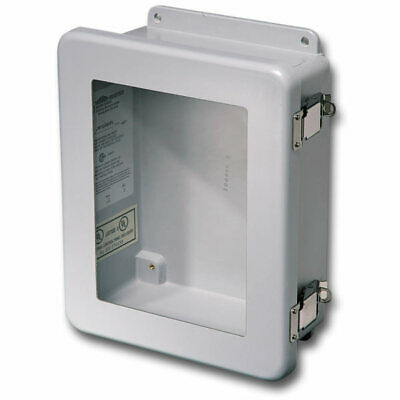 Stahlin Electrical Fiberglass Enclosurewindow Jw100806hpl 10x8x6 Fg Hpl