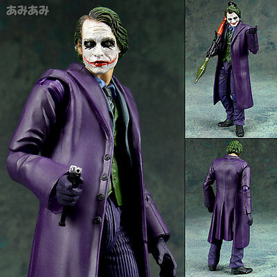 MEDICOM MAFEX 005 DC THE DARK KNIGHT JOKER 1/12 SCALE ACTION FIGURE HEATH LEDGER