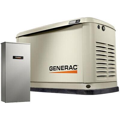 Generac Guardiantrade 9kw Aluminum Standby Generator System 100a Ats W 16...