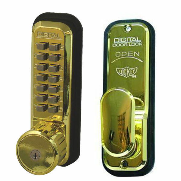 Lockey 2435K Mechanical Lock PB (2435K-PB)