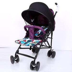Portable UV Sun Shade Sun Canopy For Baby Stroller Pram PARASOL Pushchair Seat