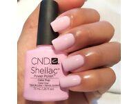 Free Shellac manicure