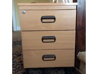 3 draw office cabinet