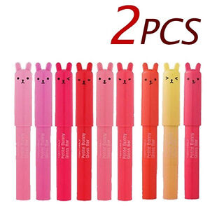 TONYMOLY-Petite-Bunny-Gloss-Bar-2pcs-Korean-cosmetic