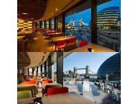 Bar staff - Busy restaurant - London Bridge - Tips!